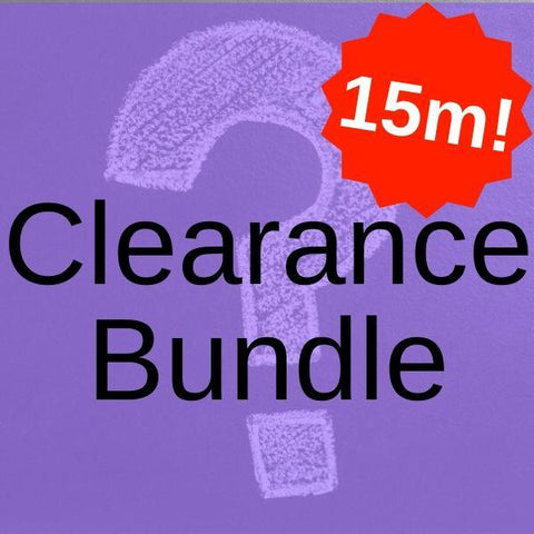 Clearance Fabric Bundle 5 x 3 Metres (Total 15 Metres!) - Pound Fabrics
