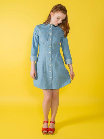Tilly and the Buttons • Rosa • Improvers - Pound Fabrics