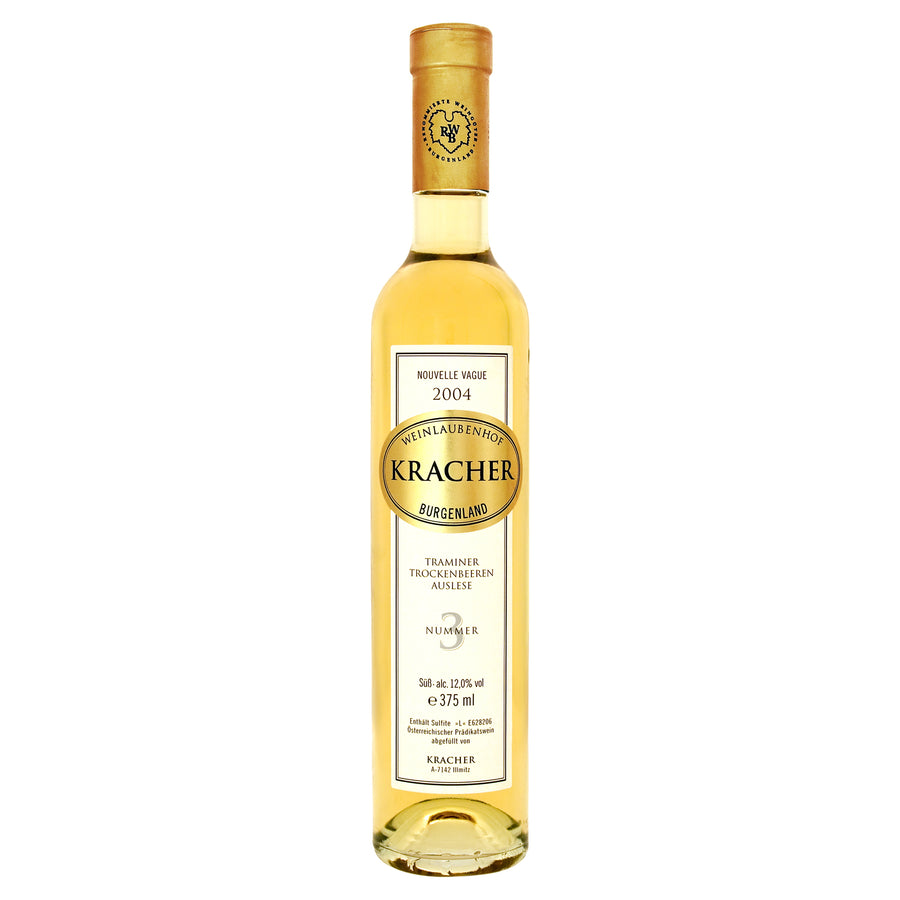 Kracher TBA No. 3 Traminer Nouvelle Vague 2004 375ml