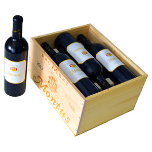 Château Montus Madiran 2013 Six-Pack (Original Wooden Case)