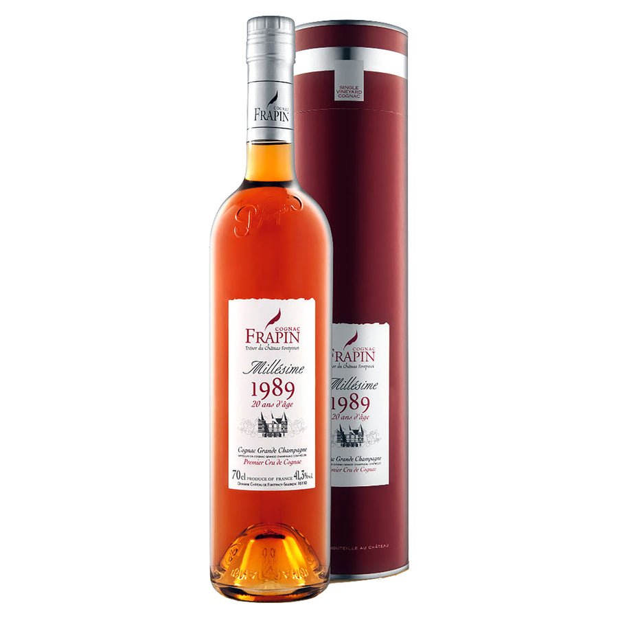 Cognac Frapin Millesime 1989 20 Years Old Cognac Grande Champagne