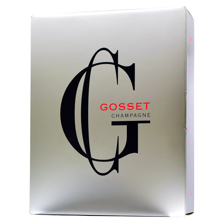 Gosset Champagne Blanc de Noirs Twin-Pack with Gift Box (Champagne Included)