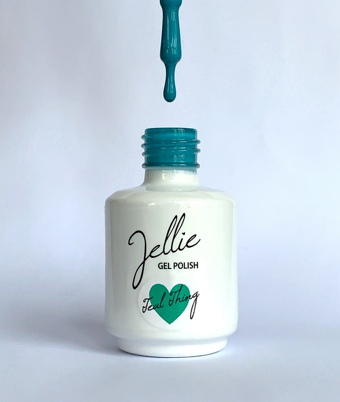 Jellie Gel 'Teal Thing' 15ml Colour Coat