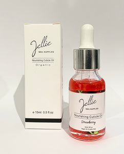 Jellie 'Strawberry' 15ml Cuticle Oil