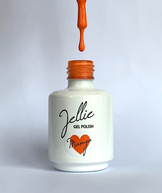 Jellie Gel 'Mango' 15ml Colour Coat
