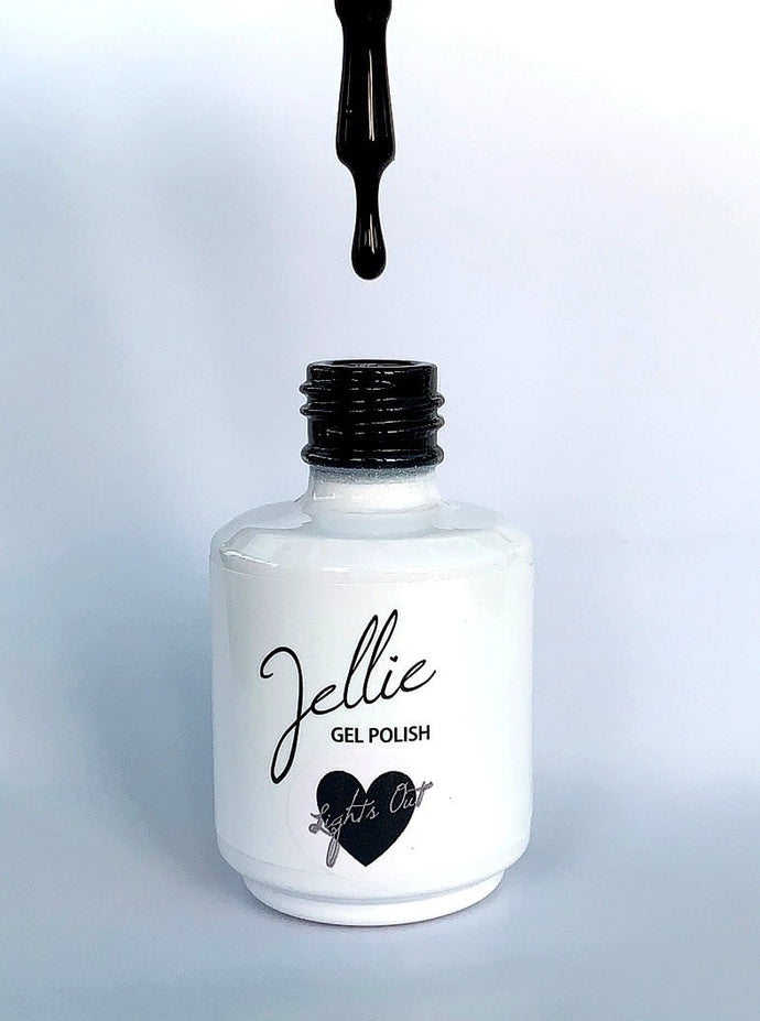 Jellie Gel 'Lights Out' 15ml Colour Coat
