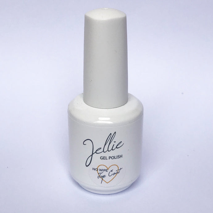 Jellie Gel No Wipe 15ml Top Coat