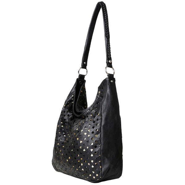 Cadelle Leather Marlowe Laser Cut Bag