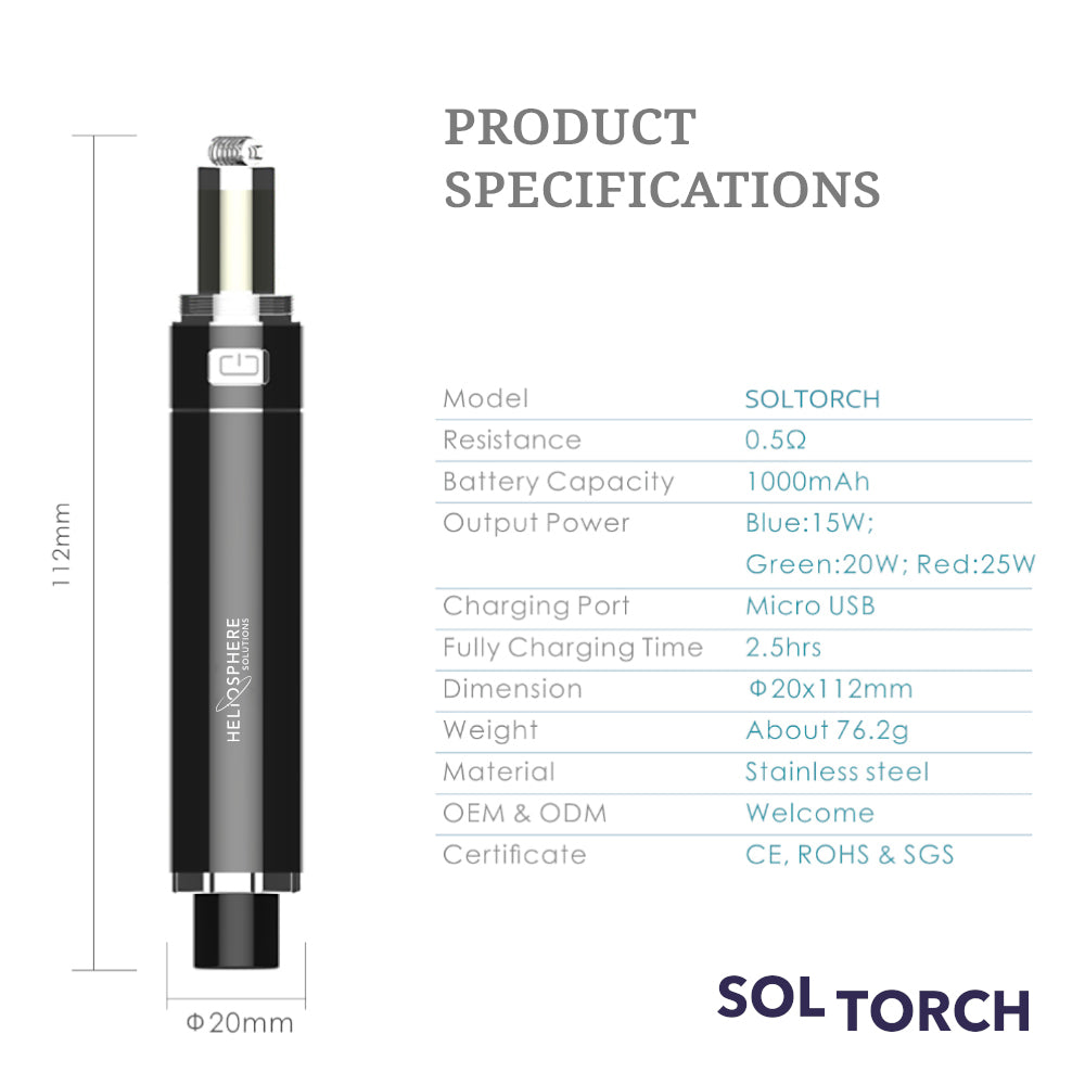 SolTorch Wax Pen Kit