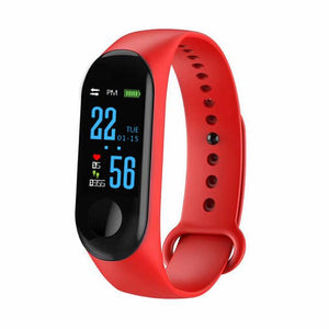 Sport Smart Band Bracelet M3 Blood Pressure Monitor Waterproof Smart Wristbands Smartband fitness Tracker watch PK mi band 3 4