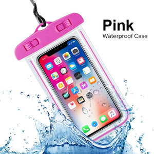 INIU IP68 Universal Waterproof Case For iPhone XS Max XR X 8 7 6 Plus Samsung S10 Cover Water proof Bag Mobile Phone Pouch Coque