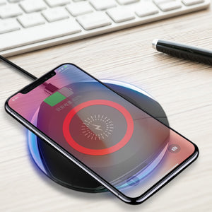 QI Wireless mobile charger Transmitter for samsung galaxy s9 s8 chargeur induction Charging for iphone x xs xr draadloos opladen