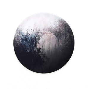 Round Mouse Pad Planet Series Mat Earth/Venus/Mars/Mercury/Jupiter/Pluto/Rainbow Moon/Black Moon Computer Peripherals Accessory