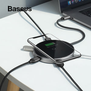Baseus USB Type C HUB to 3.0 HDMI HUB with Wireless Charge for MacBook Pro Multi USB HUB Computer Accessories Splitter USB C HUB