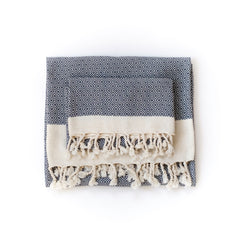 Samimi bath towel set made from organic cotton by Arc Lore