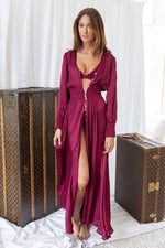 HAMPTONS MERLOT BEACH ROBE