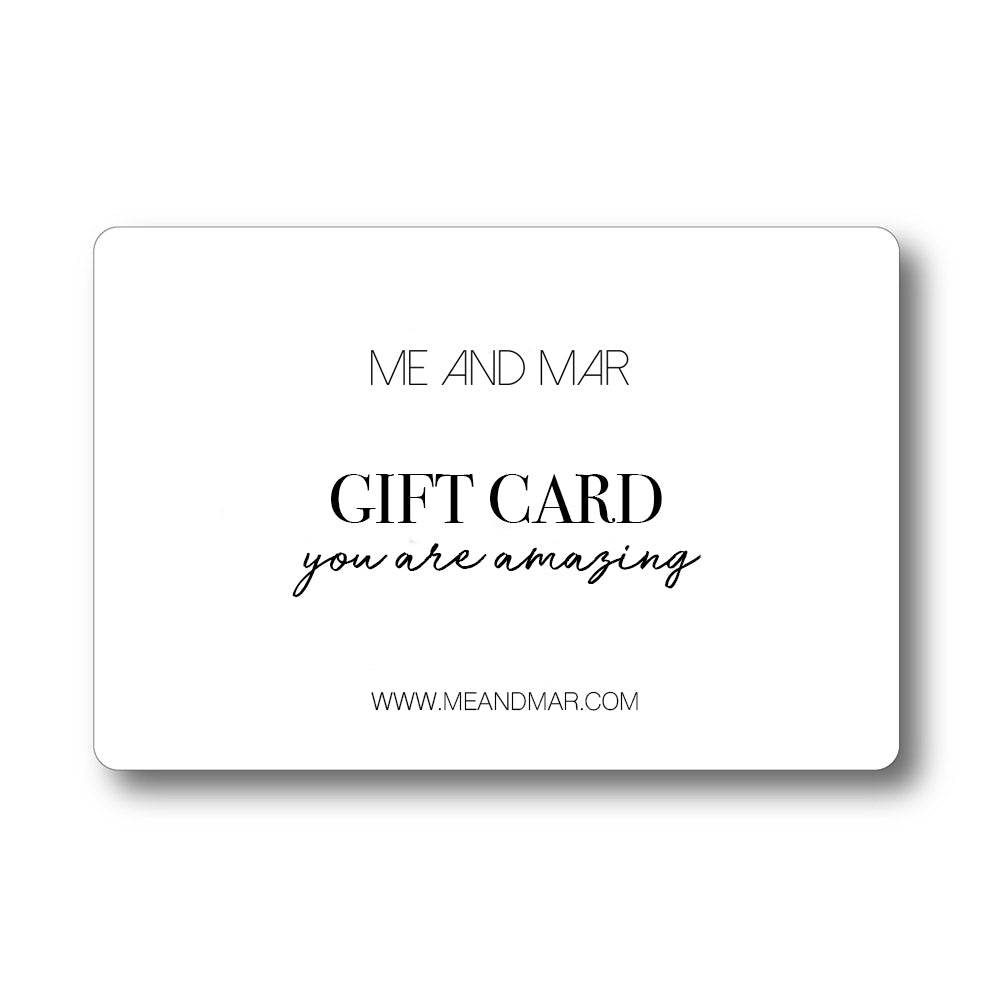 Me and Mar - Gift card