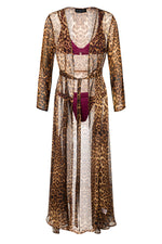 ST. BARTH LEO SILK ROBE