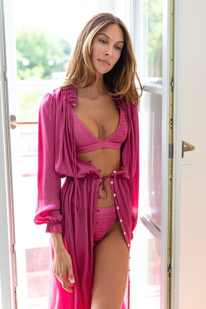 MILANO ROSE BEACH ROBE