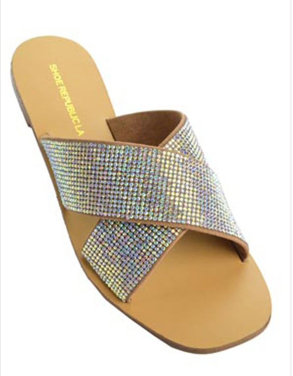 Shiny Disco Sandals