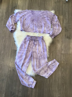 Tye Dye Set - Purple
