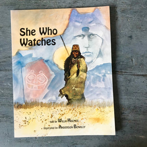 She Who Watches - Willa B Holmes - Anderson Benally - 1997