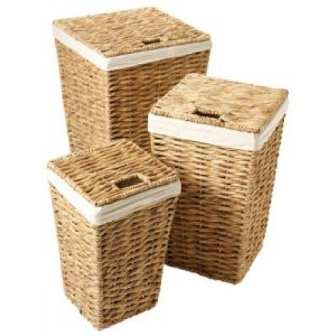 Hyacinth Laundry Basket Medium (5812/M)