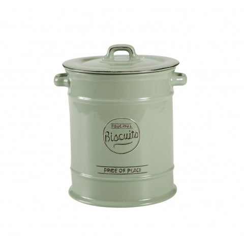 T&G Pride of Place Green Biscuit Jar