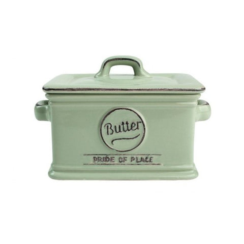 T&G Pride of Place Green Butter Dish