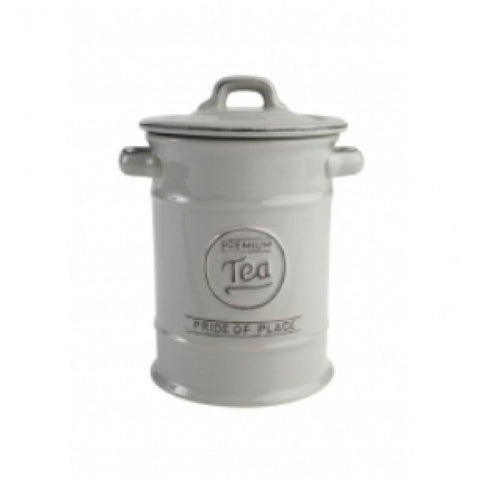 T&G Pride of Place Grey Tea Jar