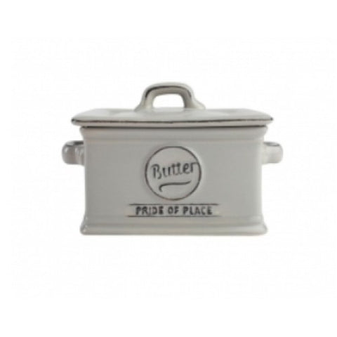 T&G Pride of Place Grey Butter Dish