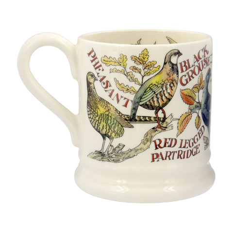 Emma Bridgewater Game Birds Red Grouse 1/2 Pint Mug