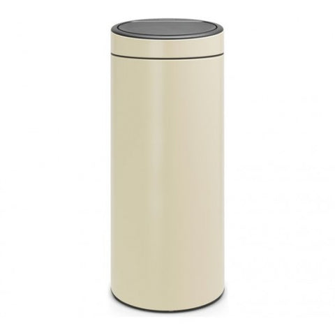 Brabantia 30L Touch Top Cream Bin