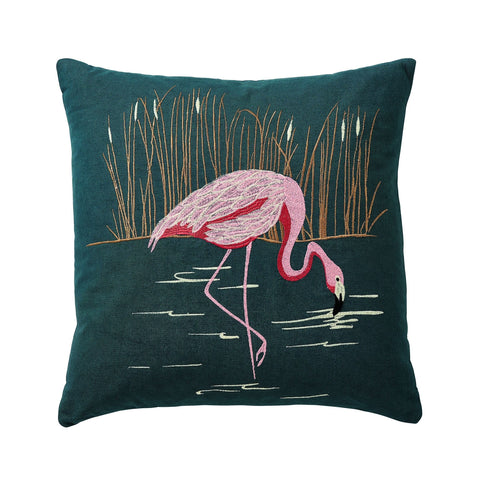 Harlequin Coppice Cushion 45X45Cm Peacock