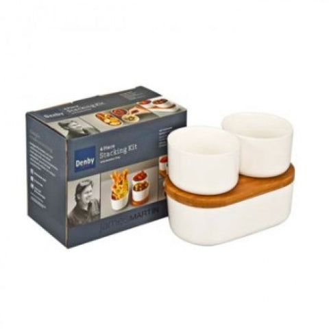 Denby James Martin 4 Piece Stacking Kit