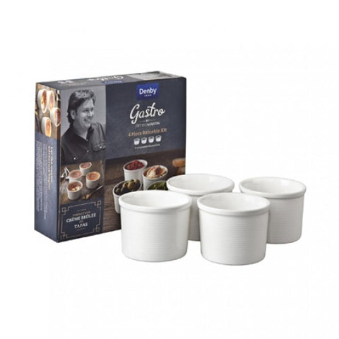 Denby James Martin Gastro 4 Piece Ramekin Kit
