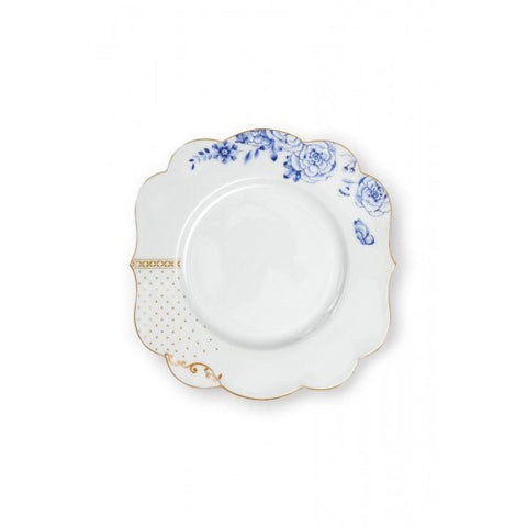 Pip Studio Royal White 23.5cm Breakfast Plate