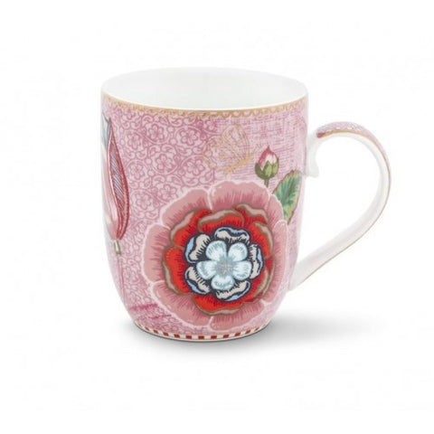 Pip Studio Spring to Life Flowers Small Mug Pink