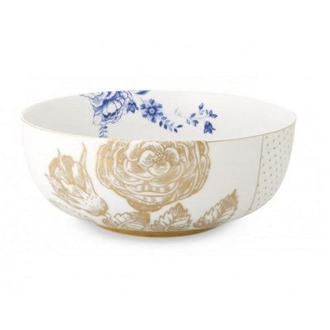 Pip Studio Royal White Serving Bowl