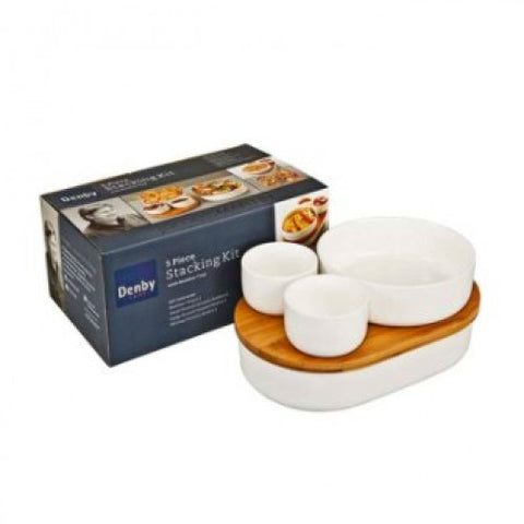 Denby James Martin 5 Piece Stacking Kit