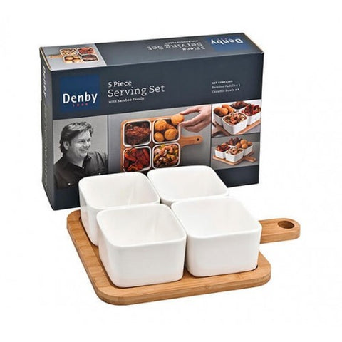 James Martin Denby 5 Piece Paddle Set