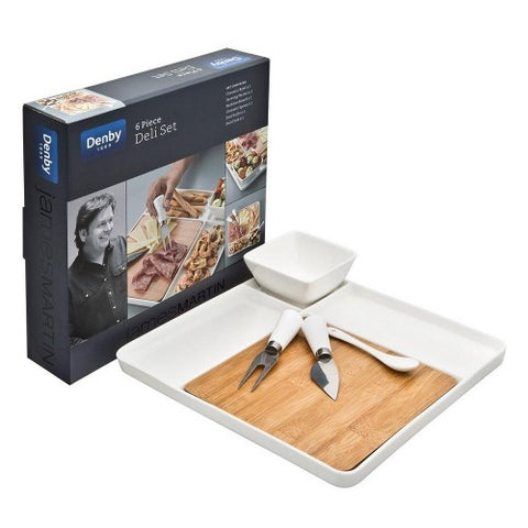 Denby James Martin 6 piece Deli Set