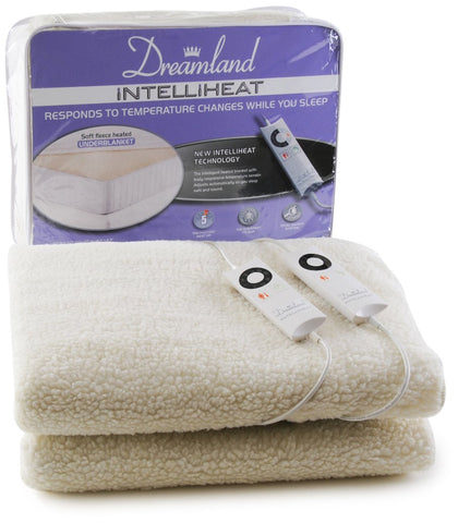 Intelliheat Kingsize Dual Control Electric Blanket