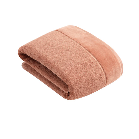 Vossen Pure Red Wood Bath Sheet