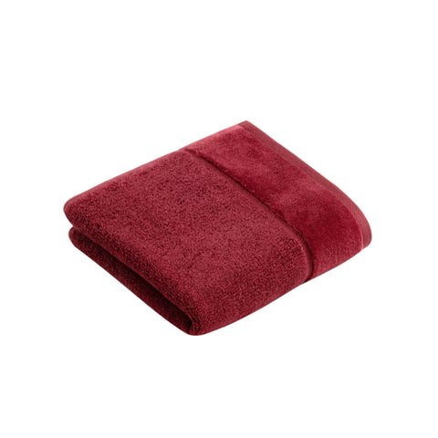 Vossen Pure Red Rock Guest Towel