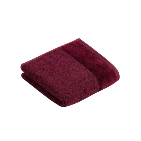 Vossen Pure Berry Guest Towel
