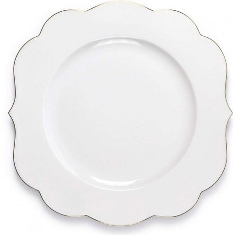 Pip Studio Royal White 28cm Dinner Plate