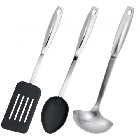 Stellar Utensil Bundle - Nylon Slotted Turner, Nylon Spoon & Ladle