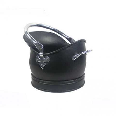 Castle Coal Bucket - Black Chrome