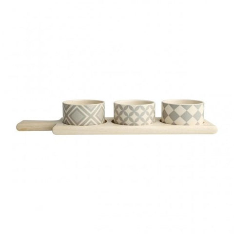 T&G City 3 Piece Dipping Set